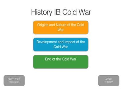 Student essays on the cold war 2